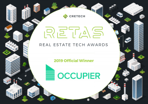 Real Estate Tech Awards 2019 Official Winner