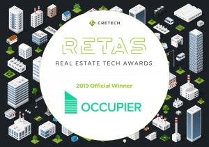 Real Estate Tech Awards 2019 Official Winner